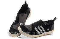 Летние кроссовки Adidas Boat  SL черные