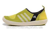 Летние кроссовки Adidas Boat SL yellow, фото 1