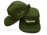 Кепка с прямым козырьком Supreme Snapback green