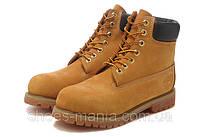 Женские зимние ботинки Timberland желтые