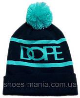 Шапка Dope black-blue