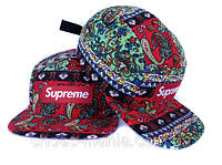 Кепка с прямым козырьком Supreme Snapback all colors