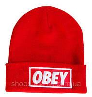 Шапка Obey красная