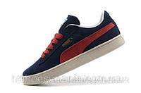 Мужские кроссовки Puma Suede blue-red