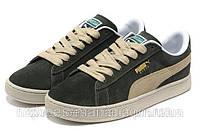 Мужские кроссовки Puma Suede хаки