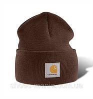 Шапка Carhartt коричневая