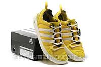 Летние кроссовки мужские Adidas Terrex Climacool Boat желтые