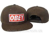 Кепка Obey Snapback brown