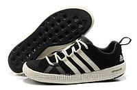 Летние кроссовки мужские Adidas Terrex Climacool Boat черные