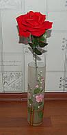 М-3 Роза одиночная бархат открытая, фото 1