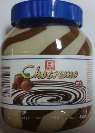 Шоколадная паста CLASSIC Chocremo 750г