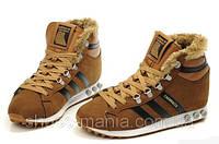 Зимние кроссовки Adidas Chewbacca brown