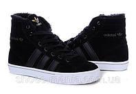 Зимние кроссовки Adidas AdiTennis High черные
