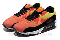 Женские кроссовки Nike Air Max 90 PREMIUM orange-black, фото 1