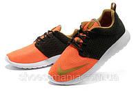 Кроссовки Nike Roshe Run FB Premium orange-black
