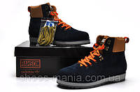 Зимние ботинки Adidas Ransom blue-orange-brown, фото 1