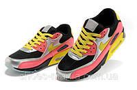 Мужские кроссовки Nike Air Max 90 black-yellow-silver, фото 1