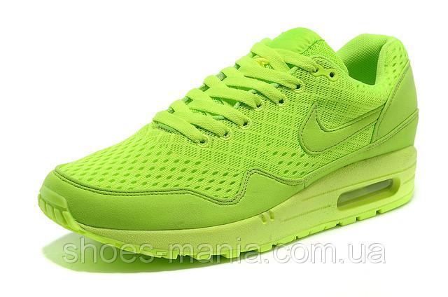 6d6c6bde Женские кроссовки Nike Air Max 87 EM салатовые - Интернет магазин обуви  Shoes-Mania в