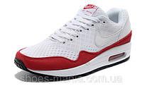 Женские кроссовки  Nike Air Max 87 EM бело-красные, фото 1