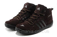 Зимние кроссовки Adidas Daroga brown, фото 1