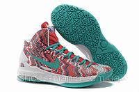 Баскетбольные кроссовки Nike Zoom KD V white-green-red