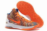 Баскетбольные кроссовки Nike Zoom KD V orange-white-blue