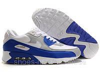 Кроссовки Nike Air Max 90 blue-white (AS-10006)