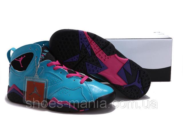 Баскетбольные кроссовки Nike Air Jordan 7 blue - Интернет магазин обуви  Shoes-Mania в Днепре 0f4fb4485c72a