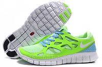 Мужские кроссовки Nike Free Run 2 салатовые AS-10083, фото 1