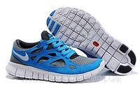 Мужские кроссовки Nike Free Run 2 серые AS-10090, фото 1