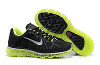 Кроссовки Nike Air Max 2011 black-green AS-10061