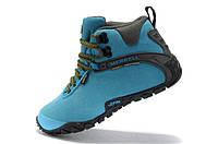 Женские зимние ботинки Merrell grey-blue