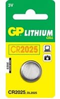 Батарейки GP Lithium CR2025 MS