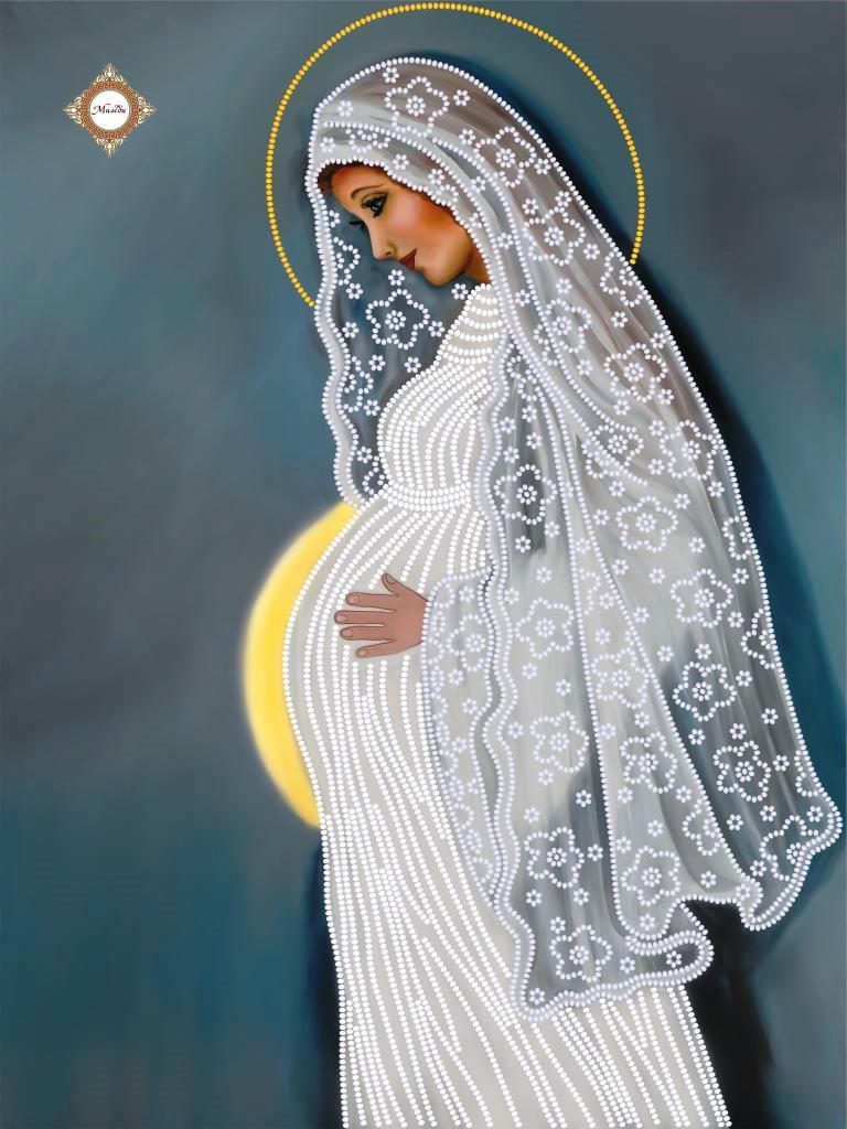 СЛ-3259 Таинство материнства.ТМ Миледи.Схема для вышивки бисером
