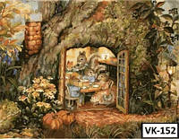 Картина на холсте по номерам VK152  40x30см