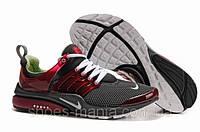 Мужские кроссовки Nike Air Presto red-grey AS-10103