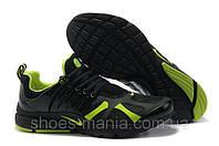 Мужские кроссовки Nike Air Presto black-green AS-10104