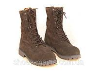 Женские  ботинки Timberland  AS-01007 (с мехом)
