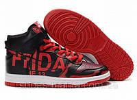 Мужские кроссовки Nike Air Dunk red-black AS-10111