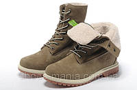 Женские  ботинки Timberland Teddy Fleece (С МЕХОМ) , фото 1