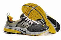 Мужские кроссовки Nike Air Presto yellow-grey AS-10101