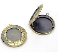 Медальон,  1шт.  бронза