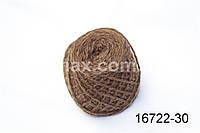 Акриловая пряжа коричневый