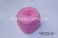 Акриловая пряжа розовый