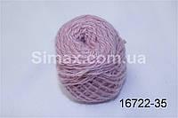 Акриловая пряжа бледно-фиолетовывый