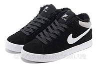 Зимние кроссовки Nike Court Tour черные
