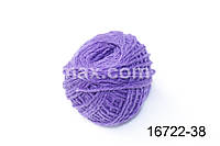 Акриловая пряжа Фиолетовая