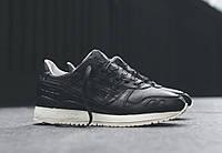 Кроссовки женские Asics Gel Lyte 3 Leather D677 Чёрные