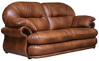 Трехместный раскладной кожаный диван Орландо (223 см) (4 цвета в наличии)