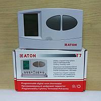 Програмируемый комнатный термостат ATON T7 терморегулятор